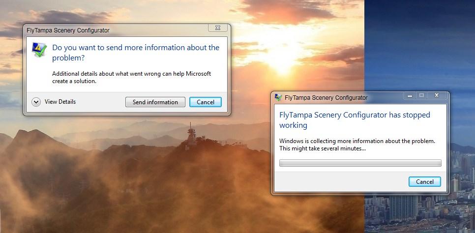 Flytampa Configurator Crashing on startup - FlyTampa